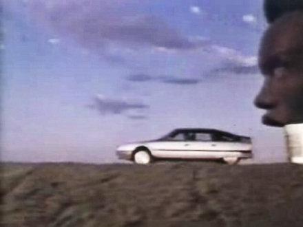 Citroen CX Werbespot mit Grace Jones