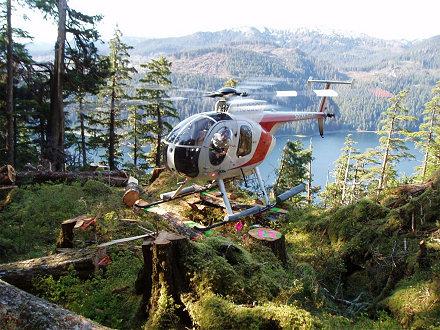 Hughes 500 Hubschrauber in Kanada