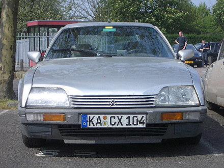 Mein Citroen CX Prestige auf der Citromobile 2006 in Utrecht