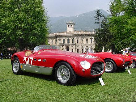 Concorso d'Eleganza Villa d'Este 2007 - Ferrari 340 MM (1953)