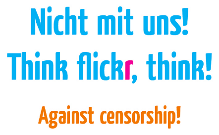 flickr Zensur Censorship