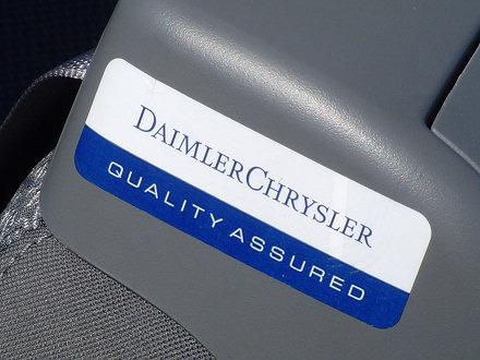 Chrysler Sebring Convertible - DaimlerChrysler Quality Assured