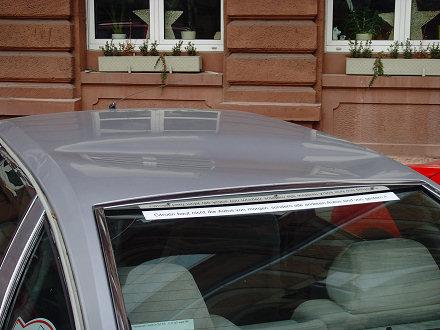 Citroen CX Prestige - Vandalismus