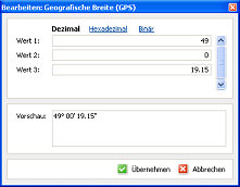 PhotoMe Exif-Daten editieren